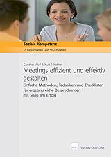 Cover Fachbroschuere Meetings effizient und effektiv gestalten