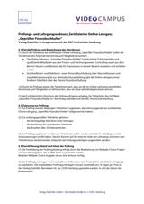 Grafik Prüfungsordnung Geprüfter Anlagenbuchhalter