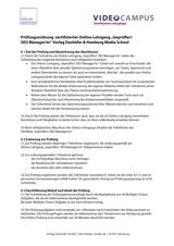 Grafik Pruefungsordnung zertifizierter SEO Manager