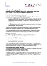 Grafik Pruefungsordnung Gepruefte/r Umsatzsteuer-Experte/in