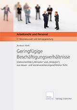 Cover Fachbroschuere: Geringfügige Beschäftigungsverhältnisse