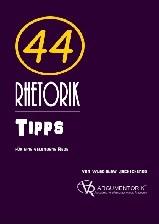 Cover Fachbroschuere 44 Rhetorik Tipps für eine gelungene Rede