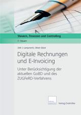 Cover Digitale Rechnungen und E-Invoicing