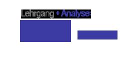Preis Lehrgang und Analyse EUR 970,-