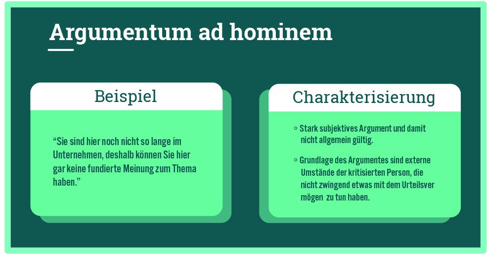 argumentum ad hominem
