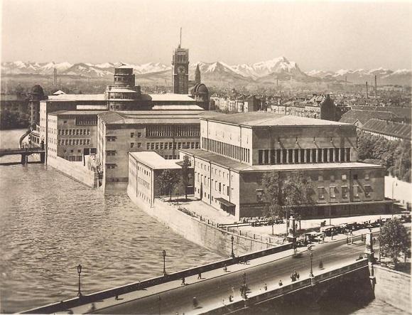Das Bild zeigt das Deutsche Museum München