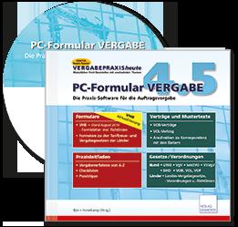 PC-Formular VERGABE