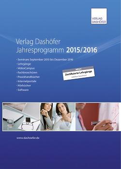 Verlagsprogramm 2016