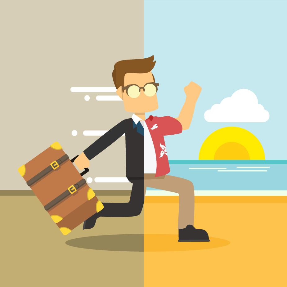 Vor dem Urlaub: Schnell Abwesenheitsnotiz einrichten