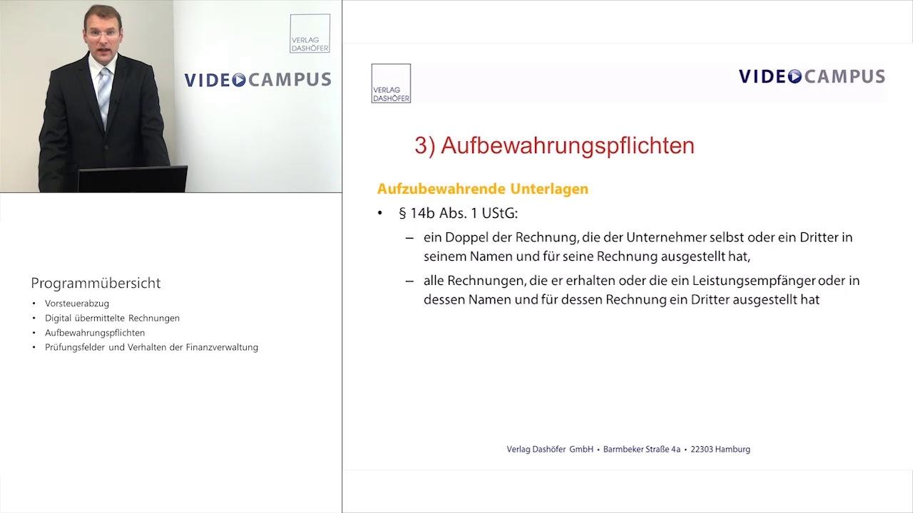 Video zum Thema E-Rechnungen