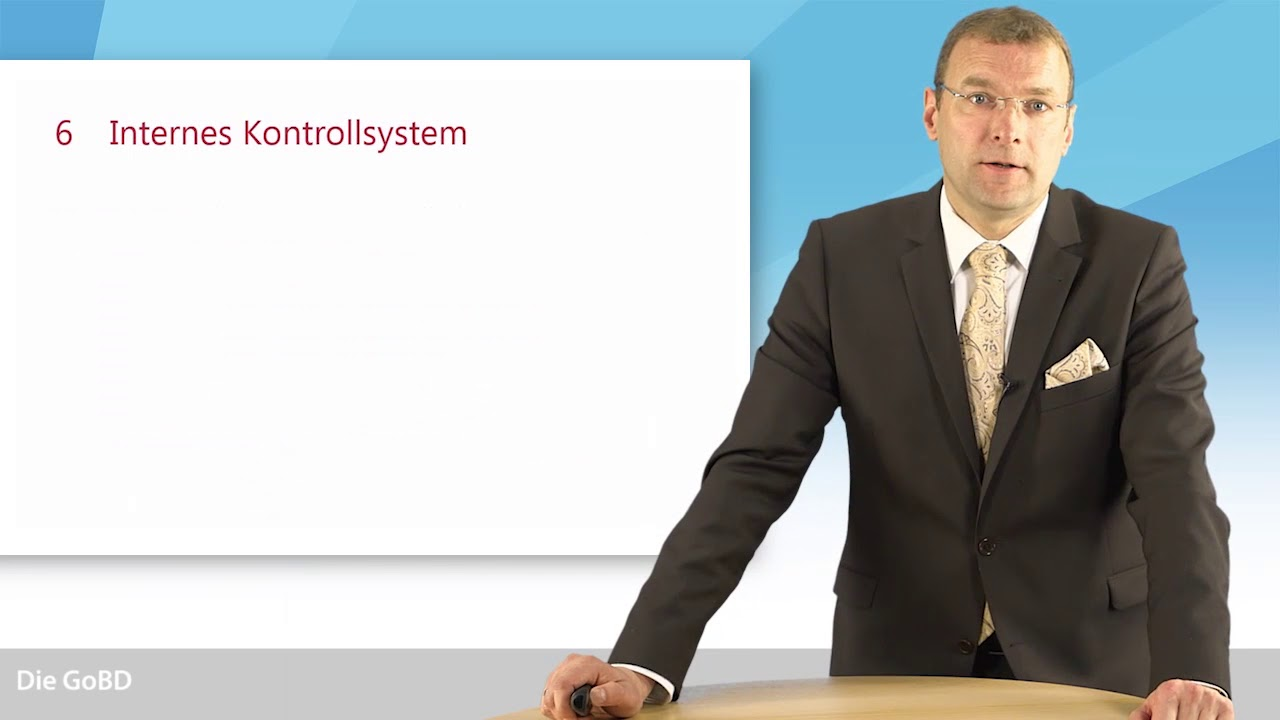 Video: Die GoBD: Internes Kontrollsystem